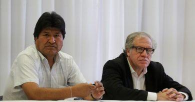 Almagro da espaldarazo a Morales sobre su cuarta reelección en Bolivia